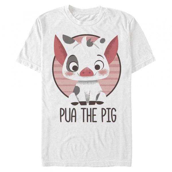 Pua Pua Pua, Group Shot - Pixar Moana - Men's T-Shirt - White - Front