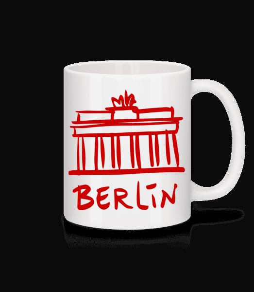 Berlin Sign - Mug - White - Vorn