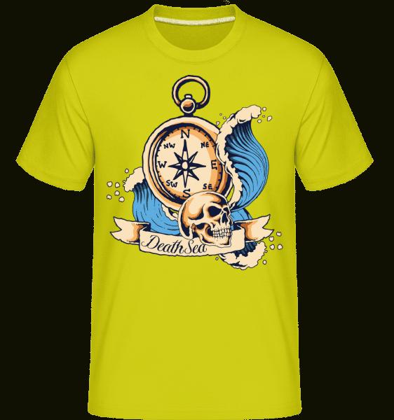 Sea Explorer -  Shirtinator Men's T-Shirt - Apple green - Front