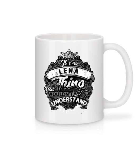It's A Lena Thing - Mug - White - Vorn