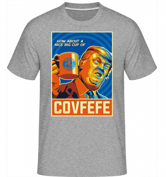 Covfefe -  Shirtinator Men's T-Shirt - Heather grey - Vorn