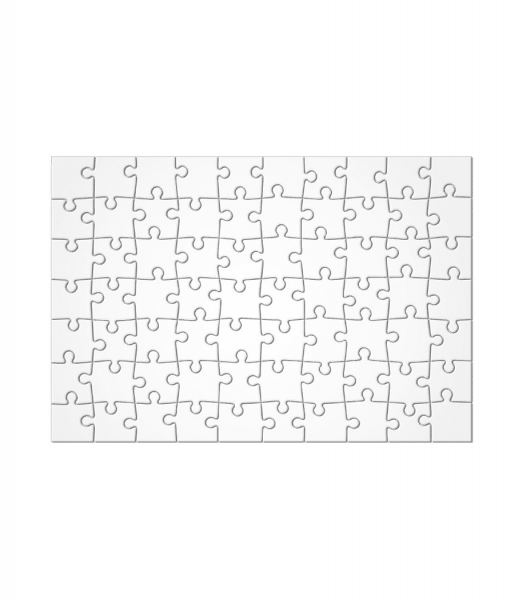 Puzzle - White - Front