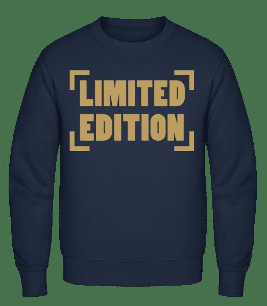 Limited Edition - Classic Set-In Sweatshirt - Navy - Vorn