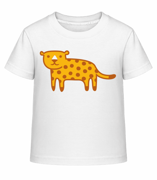 Enfant Comic - Jaguar - T-shirt shirtinator Enfant - Blanc - Vorn