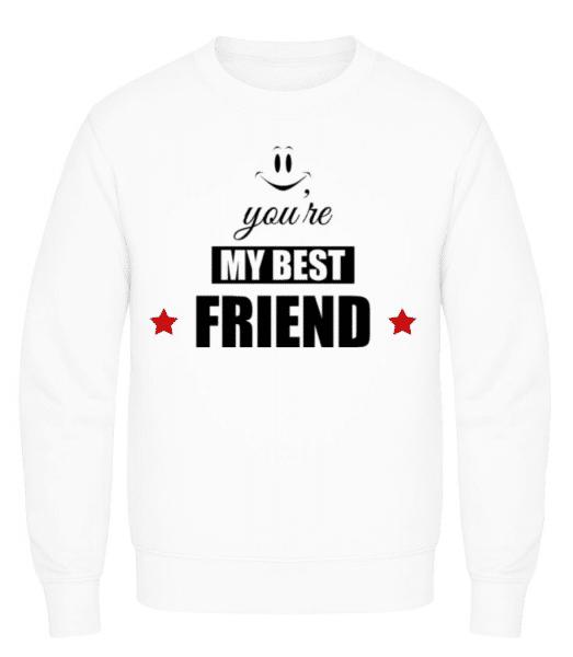 You're My Best Friend - Men's Sweatshirt - White - Front