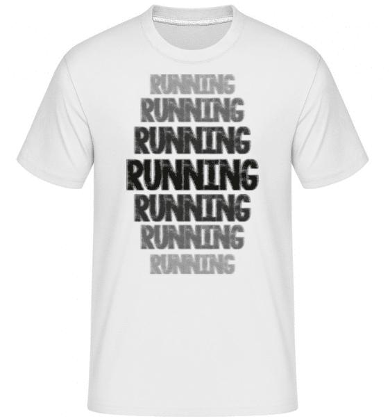 Running Motivation -  Shirtinator Men's T-Shirt - White - Front