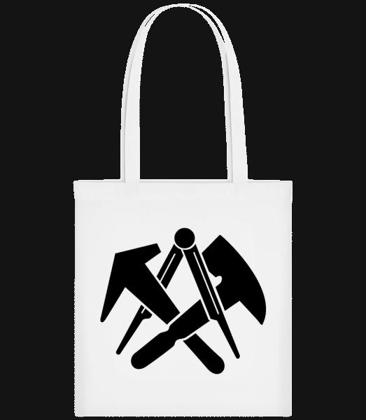 DIY Symbols - Stoffbeutel - Weiß - Vorn