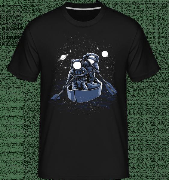 Across The Galaxy -  Shirtinator Men's T-Shirt - Black - Vorn