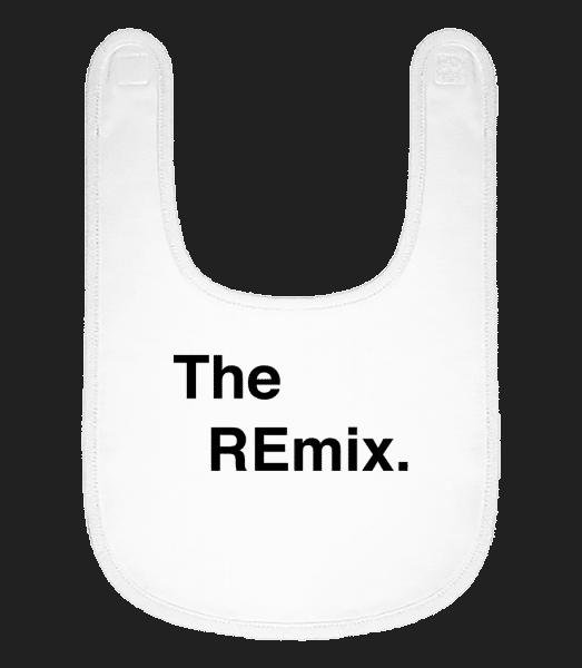 The REmix - Baby Bib - White - Vorn