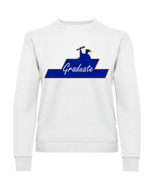 Graduate - Women's Sweatshirt - White - Front