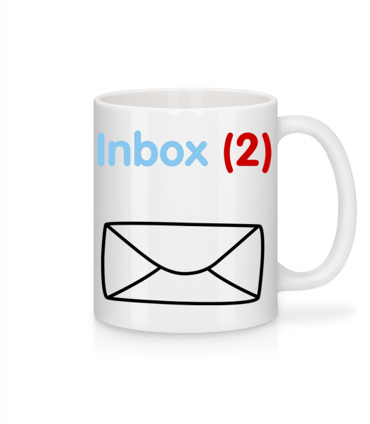 Inbox(2) Twins - Mug - White - Vorn