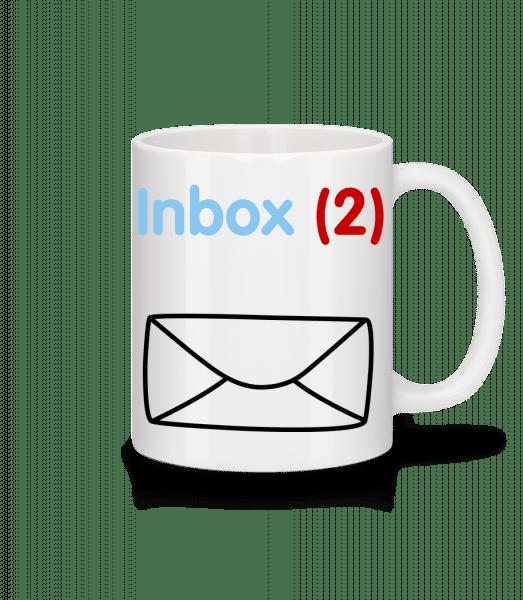 Inbox(2) Twins - Mug - White - Front