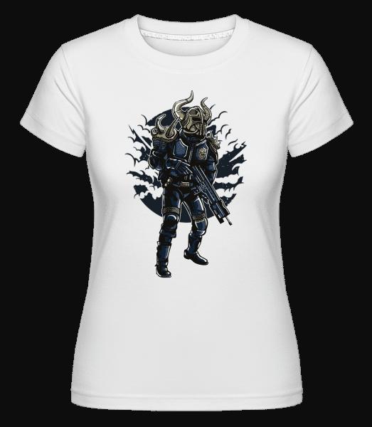 Viking Soldier -  Shirtinator Women's T-Shirt - White - Vorn