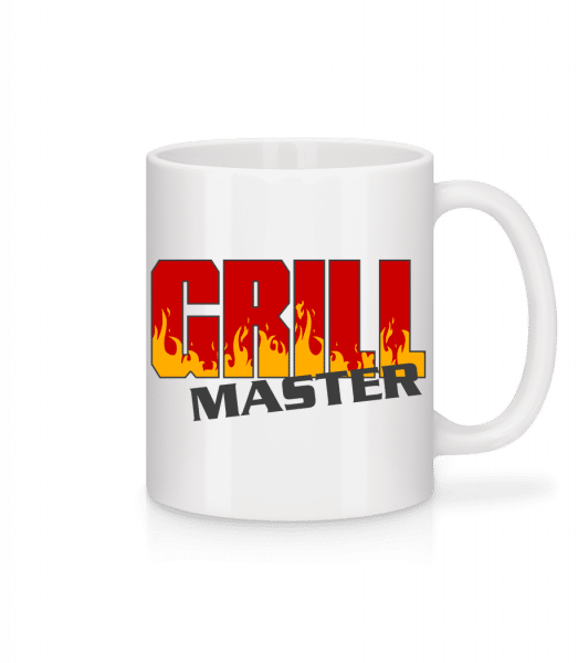 Grill Master - Mug - White - Vorn