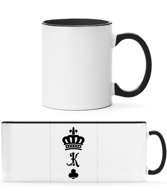 King Crown - Two-toned Mug - White - Front