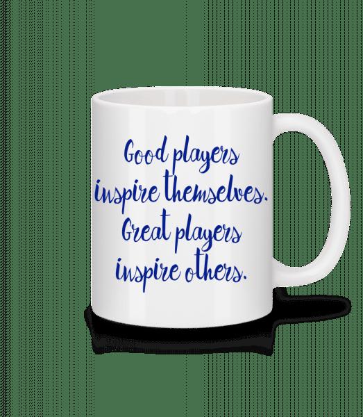 Great Players - Mug - White - Vorn