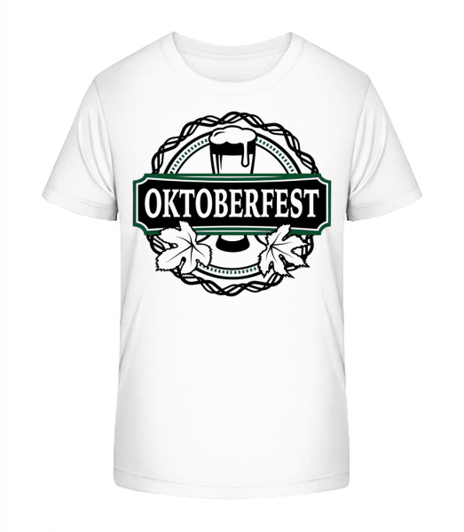 Oktoberfest - Kid's Premium Bio T-Shirt - White - Front