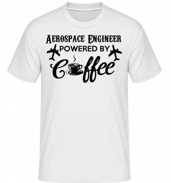 Aerospace Engineer -  T-Shirt Shirtinator homme - Blanc - Devant