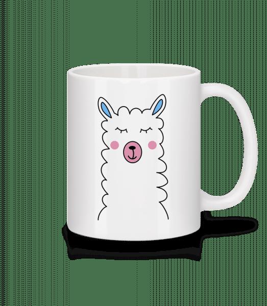 Cute Lama - Mug - White - Front