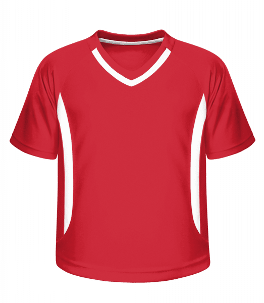 Kid's Jersey 337 - Red - Vorn