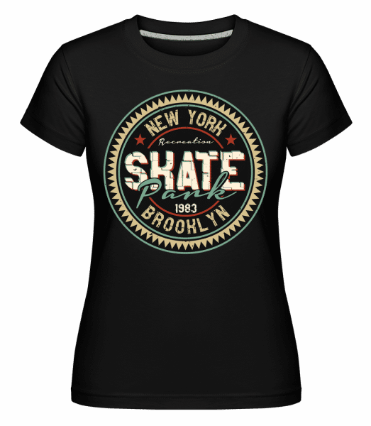 New York Skate -  Shirtinator Women's T-Shirt - Black - Vorn