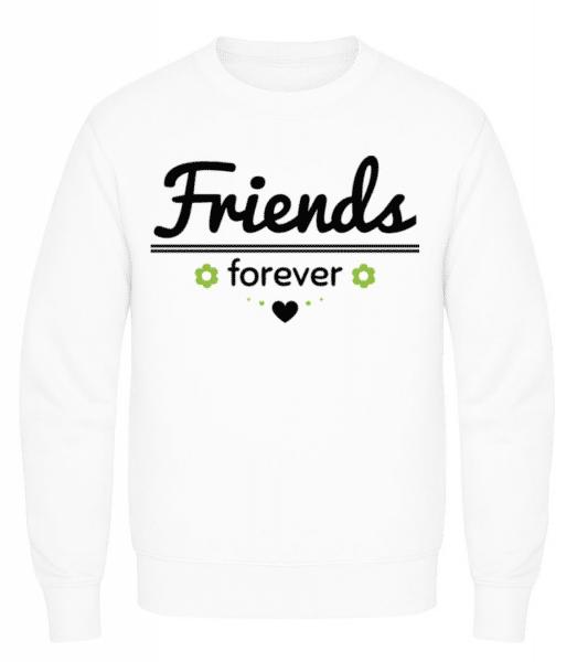Friends Forever - Men's Sweatshirt - White - Front