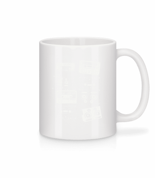 Old Cassettes - Mug - White - Vorn
