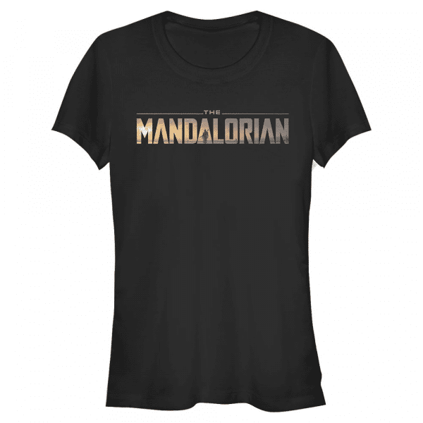 Mandalorian Logo - Star Wars Mandalorian - Women's T-Shirt - Black - Front
