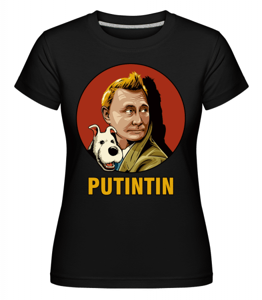 Putintin -  Shirtinator Women's T-Shirt - Black - Vorn