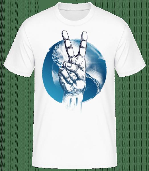 Ocean Peace - Basic T-Shirt - White - Vorn