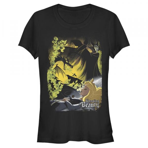 Sleeping Poster Group Shot - Disney Sleeping Beauty - Women's T-Shirt - Black - Front