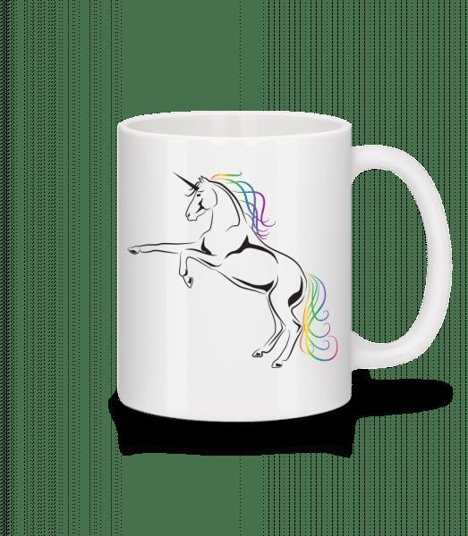 Unicorn - Mug - White - Vorn