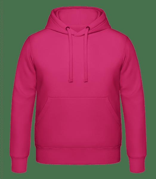 Sweat à capuche Unisexe - Fuchsia - Vorn