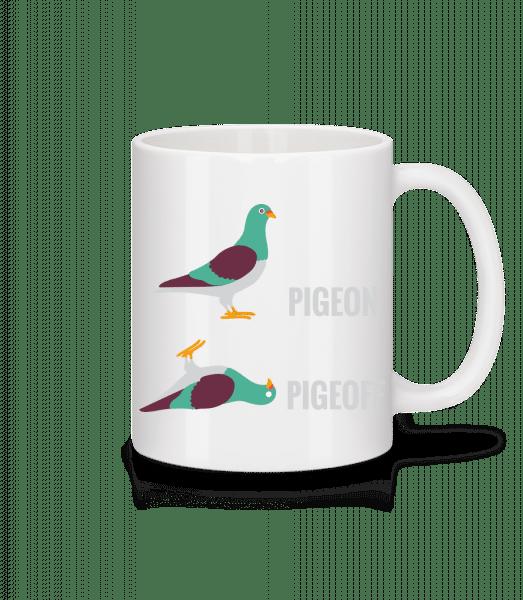 Pigeon Pigeoff - Tasse - Weiß - Vorn