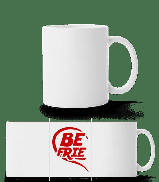 Best Friends - Mug panorama - Blanc - Devant