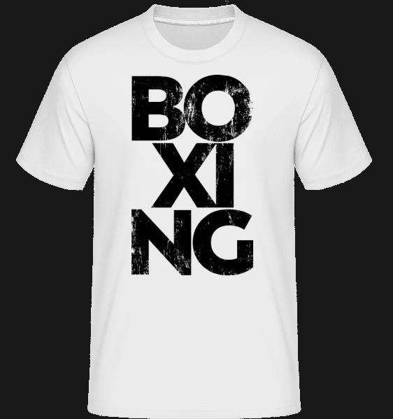 Boxing -  Shirtinator Men's T-Shirt - White - Vorn
