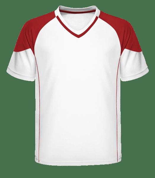 Men's Retro Jersey 338 - White - Front
