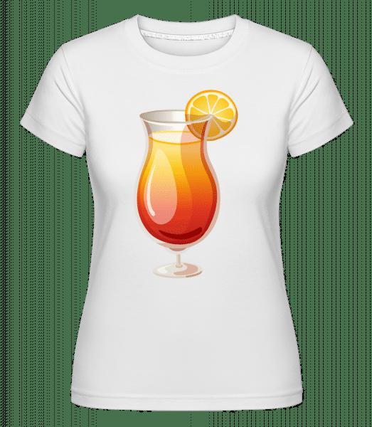 Cocktail Sex On The Beach -  Shirtinator Women's T-Shirt - White - Vorn