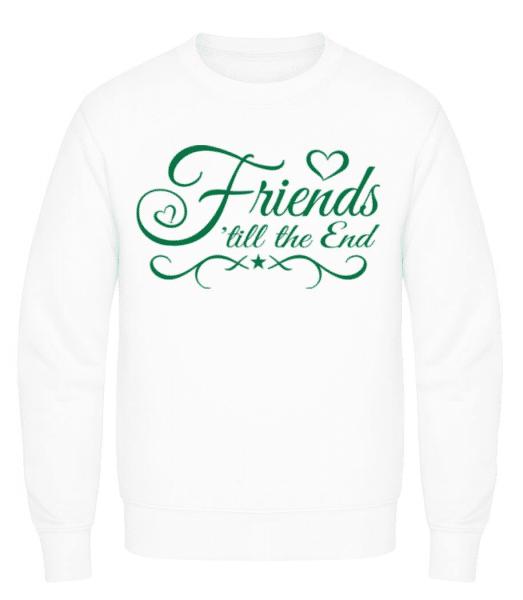 Friends 'Till The End - Men's Sweatshirt - White - Front