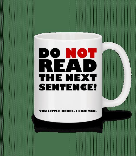 You Little Rebel - I Like You - Mug - White - Vorn