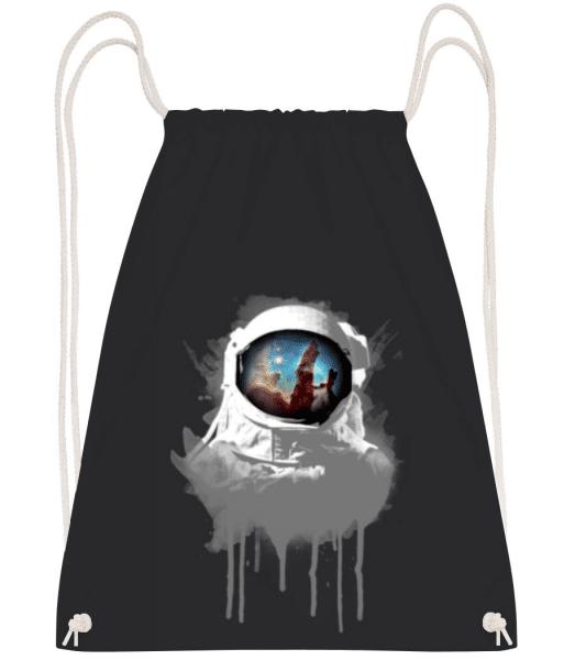 Astronaut - Gym bag - Black - Front