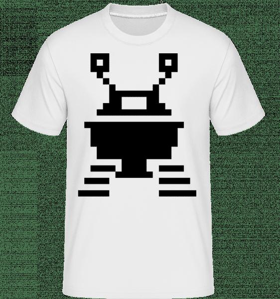 Pixel OVNI -  T-Shirt Shirtinator homme - Blanc - Vorn