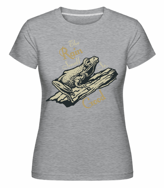 Rain Smell So Good -  Shirtinator Women's T-Shirt - Heather grey - Vorn