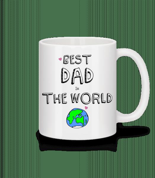 Best Dad In The World - Mug - White - Vorn