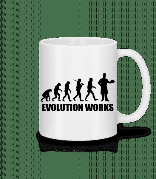 Evolution Works Cooking - Mug - White - Vorn