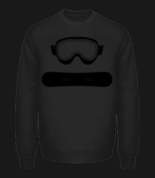 Snowboard Equipment - Unisex Sweatshirt - Black - Vorn