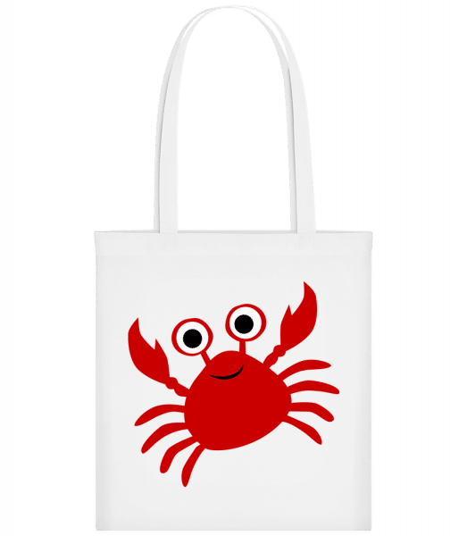 Crab - Carrier Bag - White - Vorn
