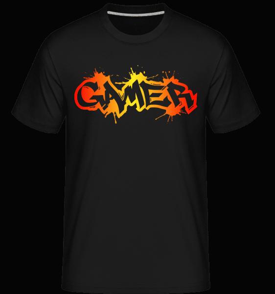 Gamer Graffiti -  Shirtinator Men's T-Shirt - Black - Vorn