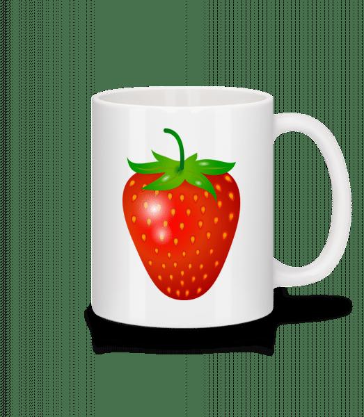 Strawberry - Mug - White - Vorn