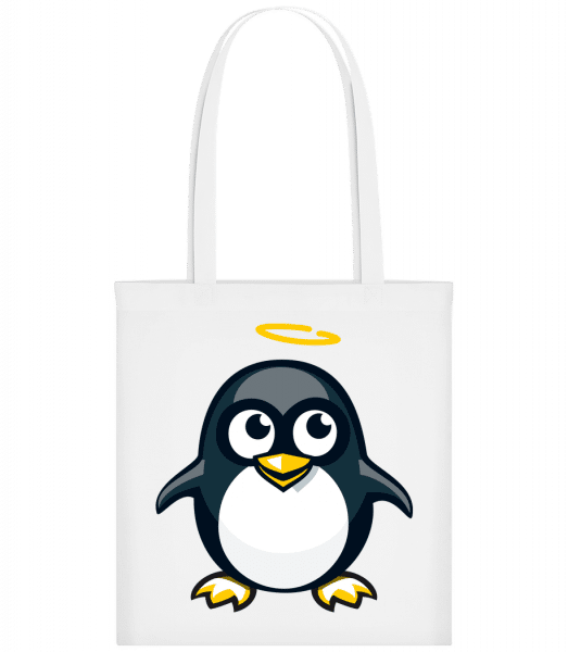 Angel Penguin - Carrier Bag - White - Vorn